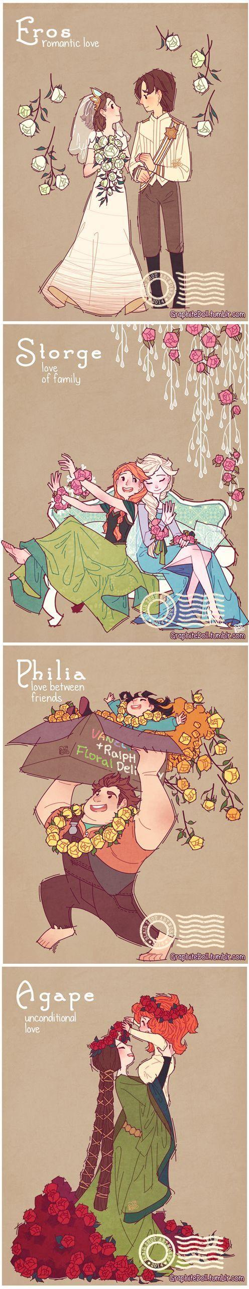 Disney love: