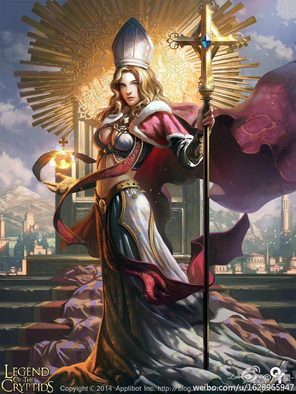Artist: Liang Xing aka lxmorningdewart - Title: revered oracle milleon - Card: Revered Oracle Milleon