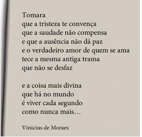 Vinicius De Morais Frases Interessantes Pensamentos