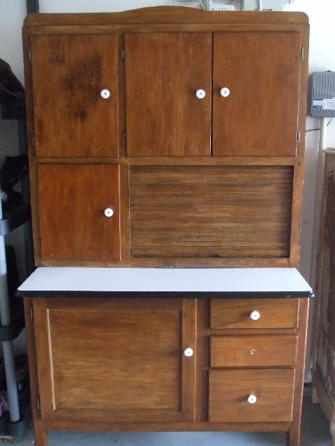Superieur Antique Hoosier Cabinet Prices | Name: Antique Oak Hoosier Style Porcelain  Top Cabinet