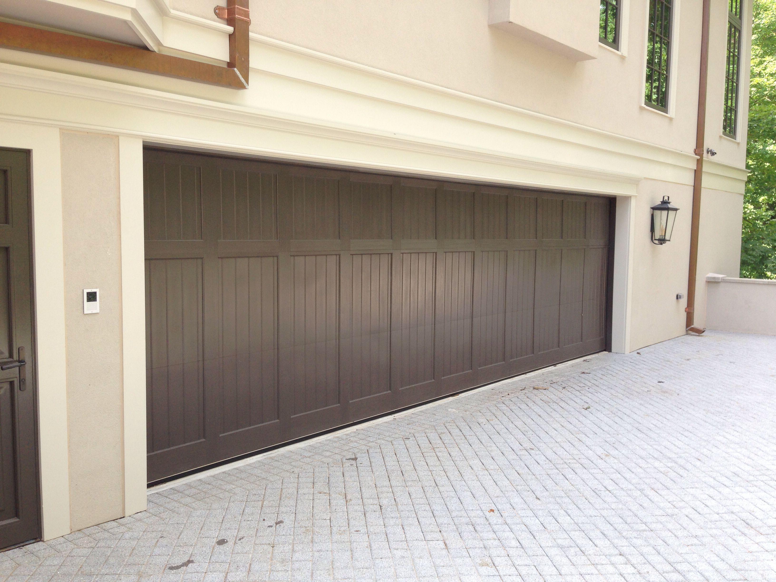 Oversized Carriage Garage Door By Crisway Doors In Washington Dc