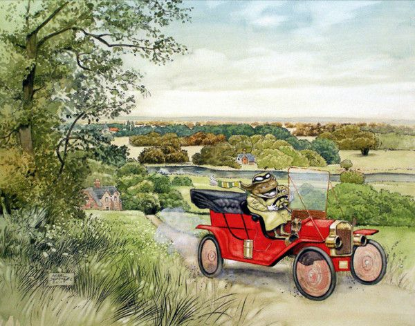 wind in the willows | Mr Toad - Wind in the Willows ...