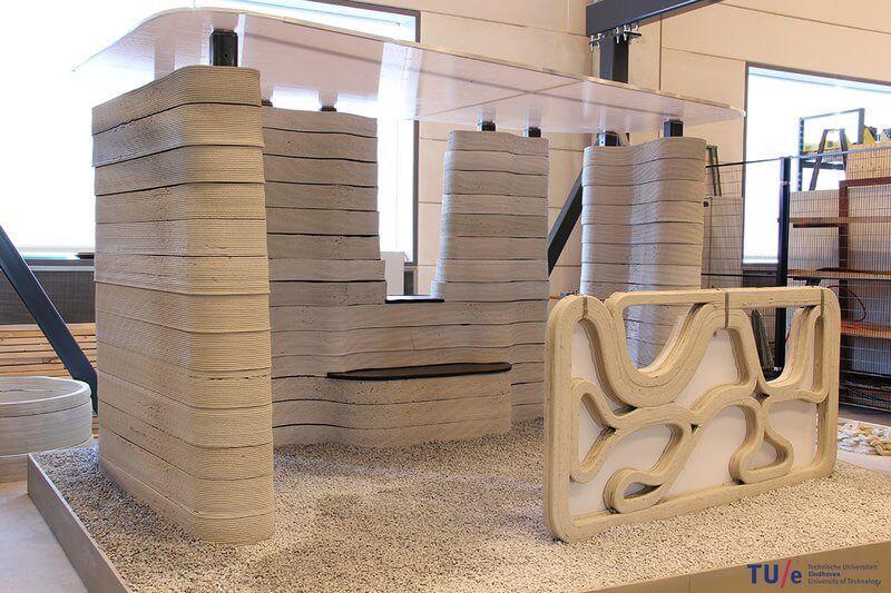 3d принтер бетон требуется бетон