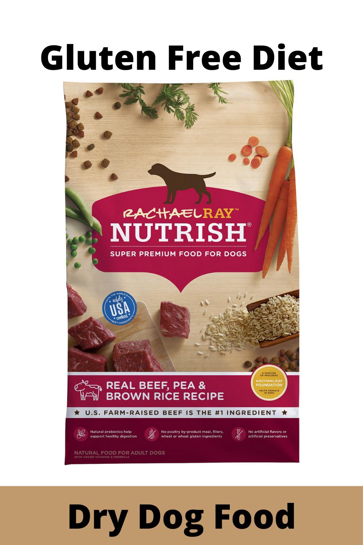 Dry Dog Food Natural Beef Pea Brown Rice Recipe Dry Dog Food Brown Rice Recipes Dog Food Recipes