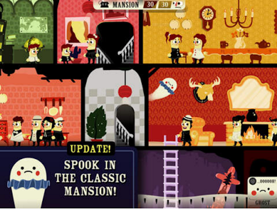 SpeechTechie: Haunt the House-fun, educational app for Halloween! Pinned by SOS Inc. Resources. Follow all our boards at pinterest.com/sostherapy/ for therapy resources.