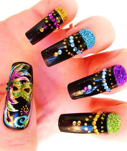 Cool Nail Art For Long Nails Thin Nice Nail Art Ideas Clean Cartoon Nail Art Designs Baby Shower Nail Polish Favors Young Nail Polish With Glitter BrownNail Polish Formaldehyde Free 1000  Images About Mardi Gras Nails On Pinterest | Mardi Gras ..