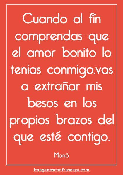 Frases De Canciones Romanticas Frases Pinterest Frases De