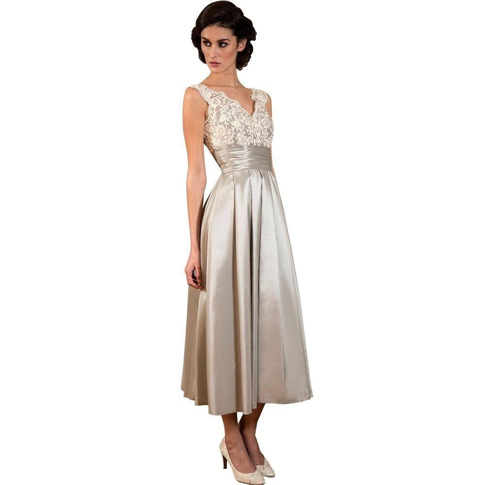 Elegant tealength bridesmaid dresses formal women bridesmaids dress