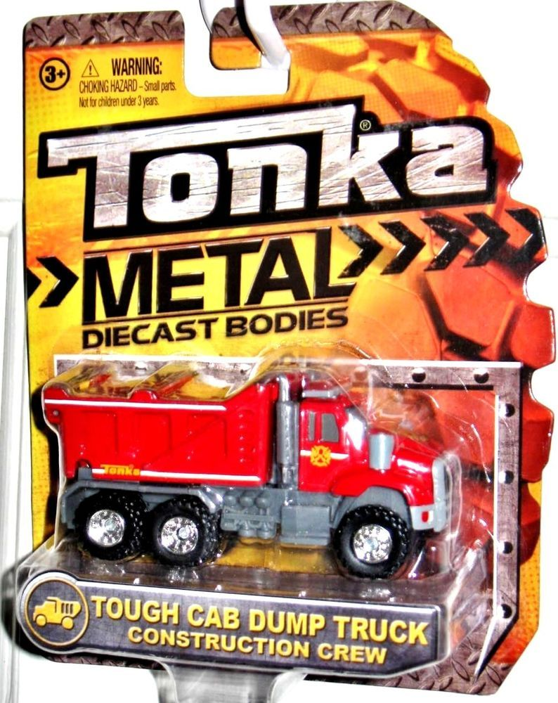 Tough Cab Dump Truck TONKA 2014 Metal Die Cast Body