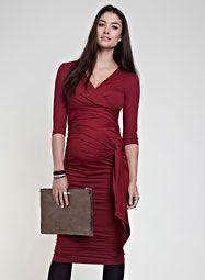 4cf8fafbfc2 The Ruched Wrap Dress