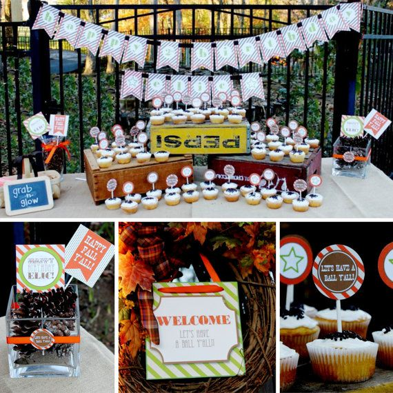 Fall Festival Party INSTANT DOWNLOAD by Pepper Avenue