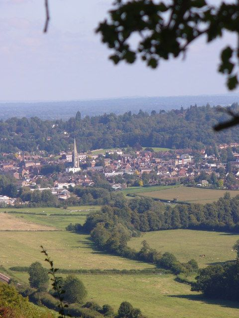 Pipp Brook Valley and Dorking