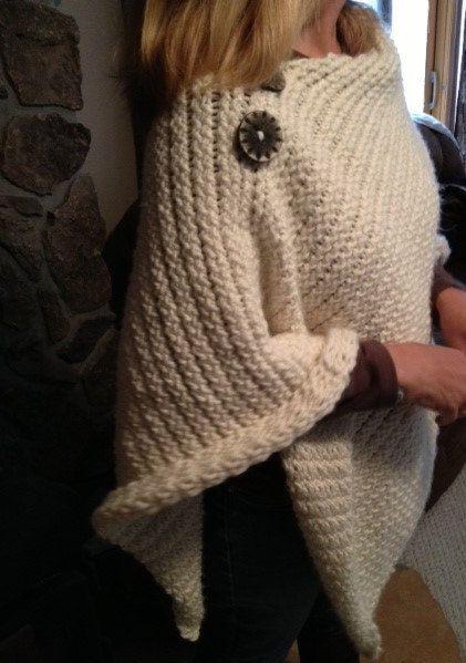 Favorite Poncho - a loom knit pattern   Pinterest   Telar, Patrones ...