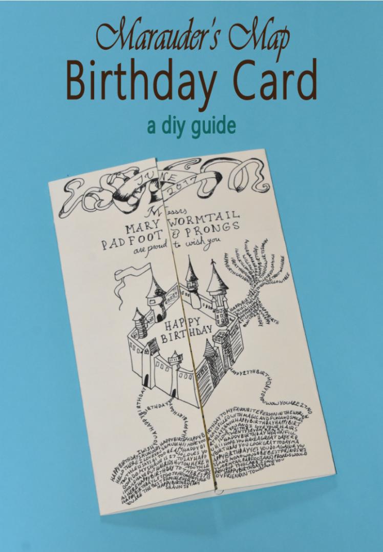 11 best diy harry potter birthday card in 2020  harry