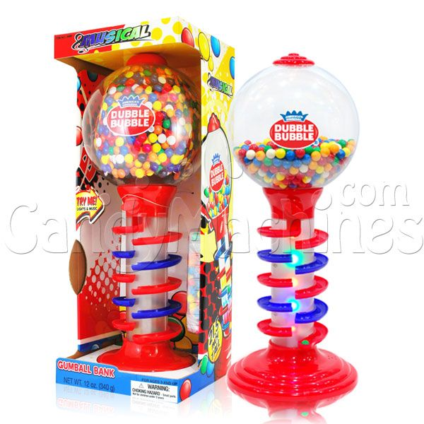 Dubble Bubble 21 Inch Light And Sound Spiral Fun Gumball