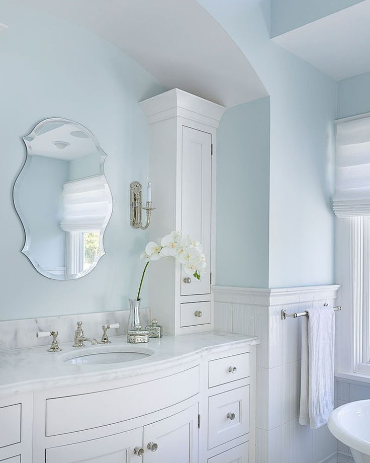 Marble Goes So Well With Baby Blue