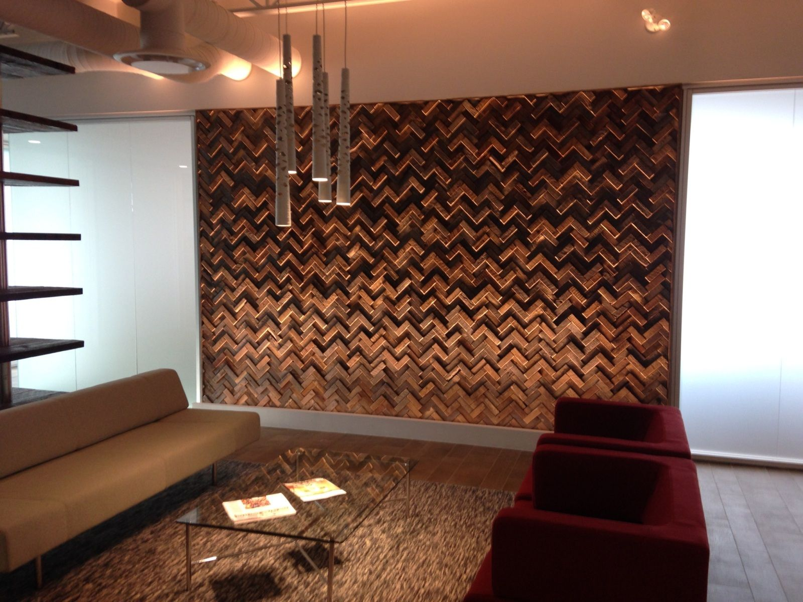 Effigy of Unique Wood Wall Covering Ideas | Interior Design Ideas ...