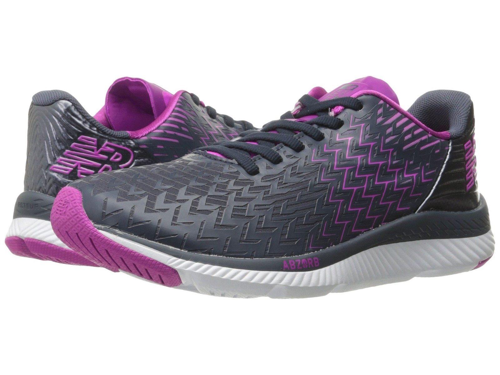 New Balance WRZHLP1 Gray/Purple Women's Running Shoes