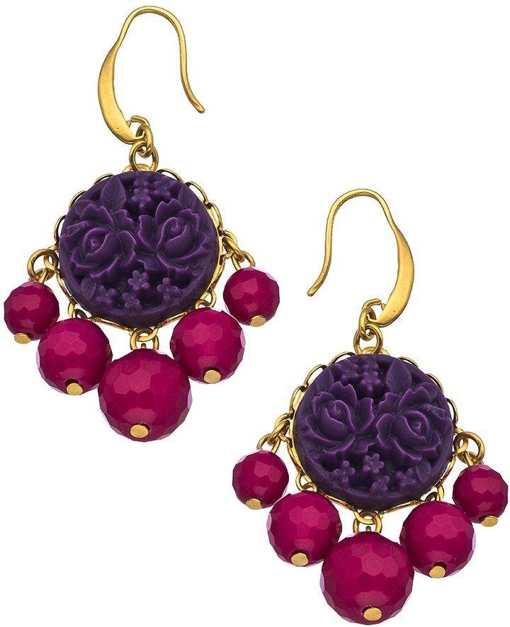 David aubrey gold and jade small chandelier earrings on shopstyle david aubrey gold and jade small chandelier earrings on shopstyle aloadofball Gallery