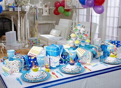 Birthday Party by Sandra Lee   @ The Table   Pinterest   Tablescapes ...
