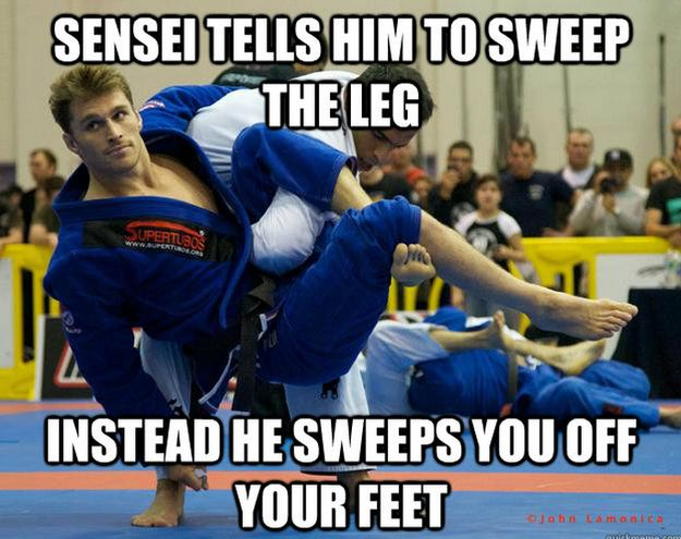 Funny Memes For A Guy : The best of the ridiculously attractive jiujitsu guy meme meme