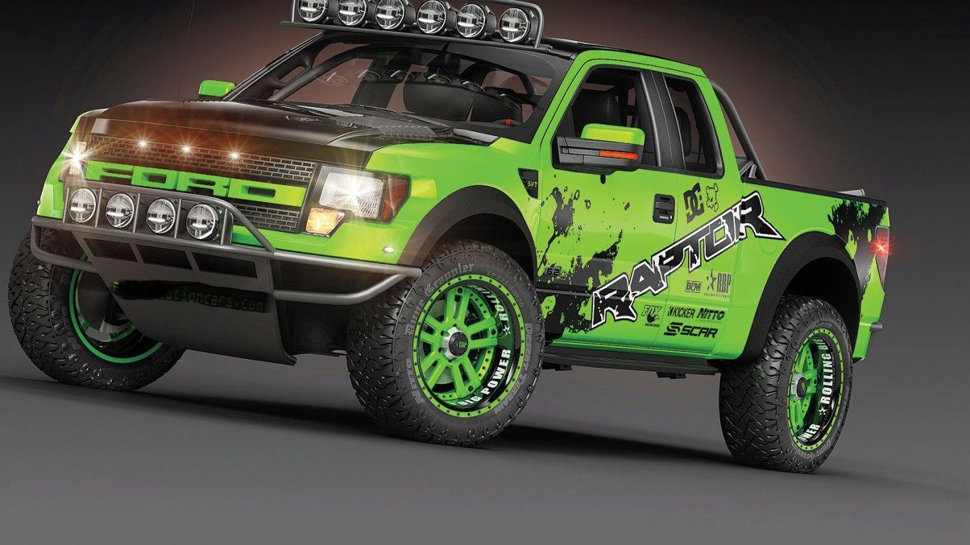 F 15o Velociraptor Neon Lime Green Ford Raptor Raptor Ford