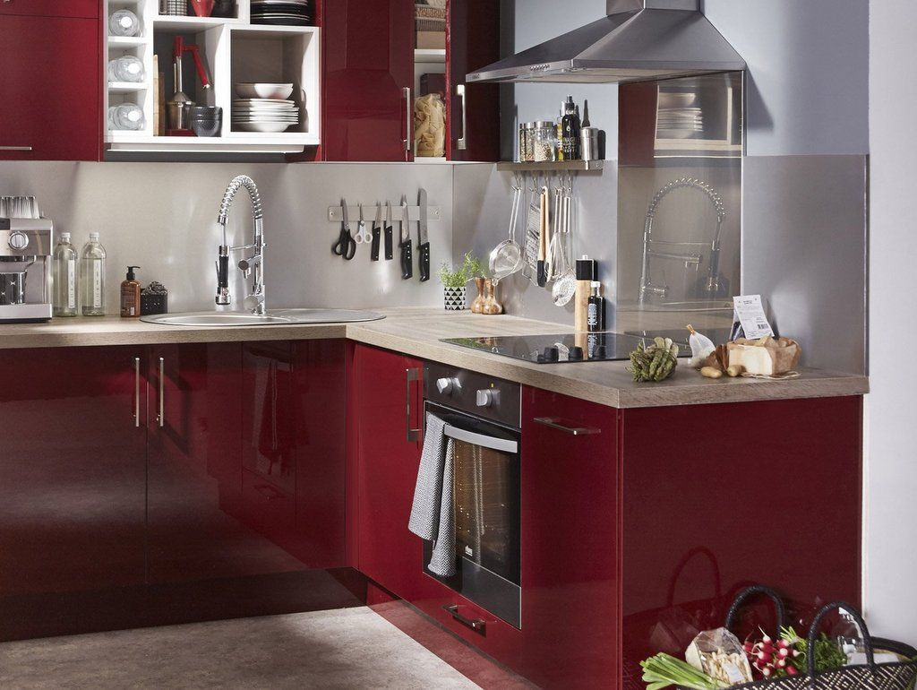 Perfect Idee Deco Pour Cuisine Rouge
