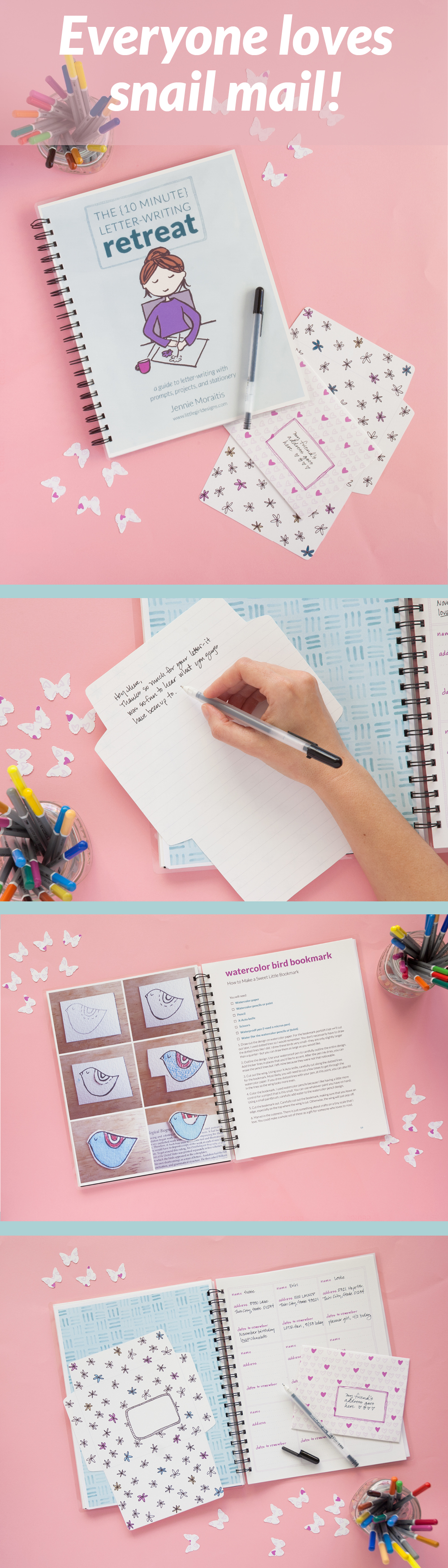 The 10 Minute Letter Writing Retreat Airmail Envelopes Snail Mail Pen Pals Letter Writing