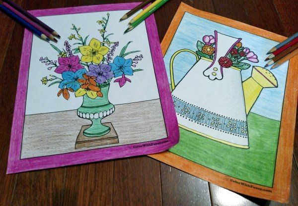102+ Flower Coloring Pages: Customize And Print PDF ...