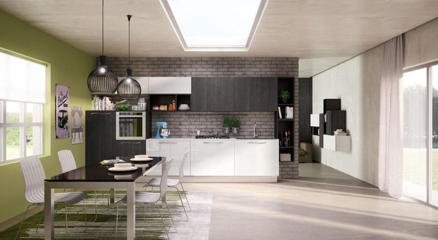Render cucine moderne Berloni | Render Cucine | Berloni ...