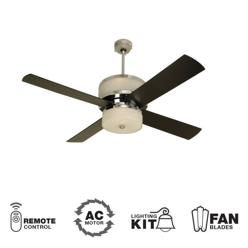 In Chrome Full Size Ceiling Fan Blades Modern Ceiling Fan Ceiling Fan