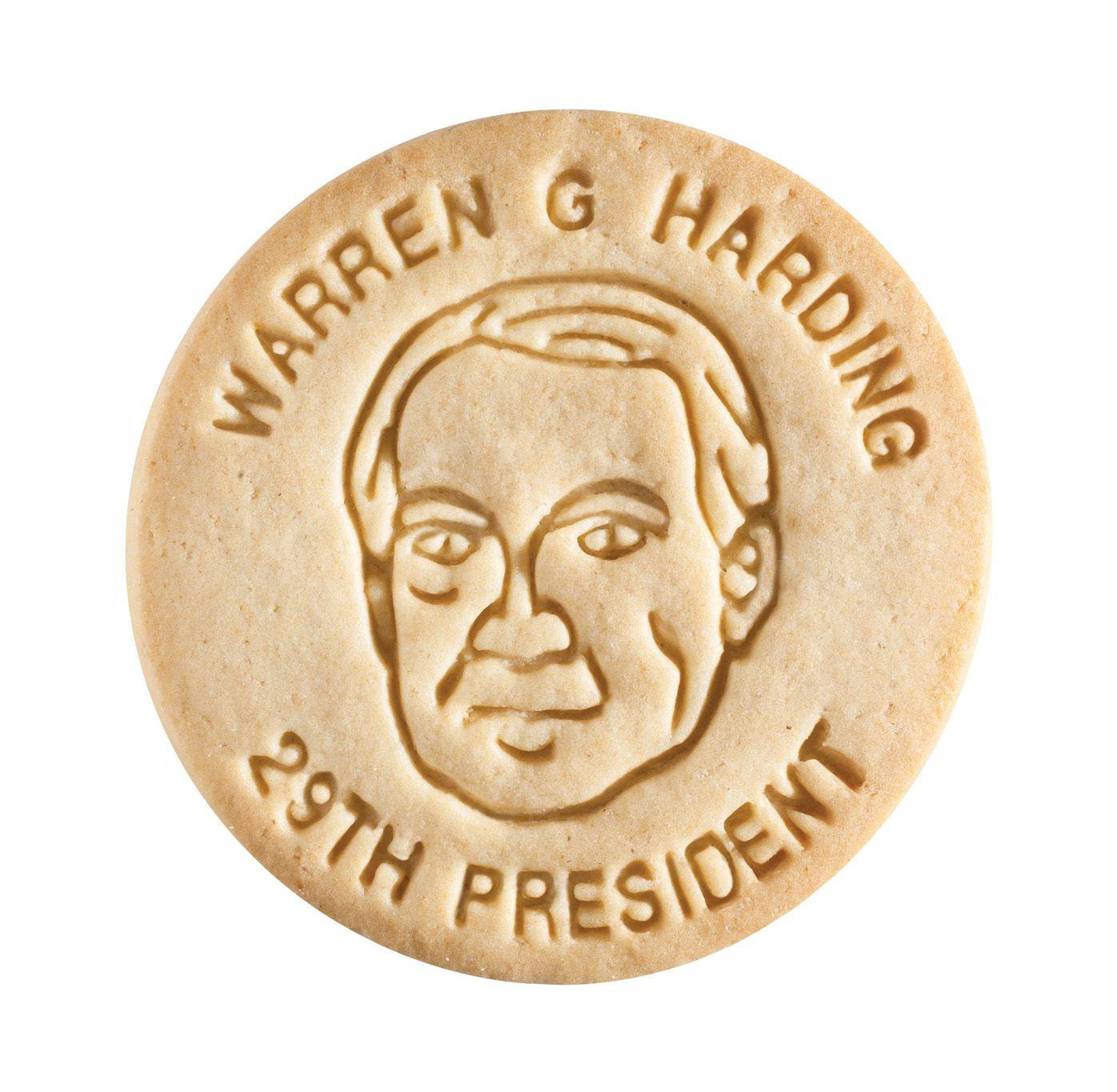 Dick & Jane Educational Snacks;  Presidential Edition;  Warren Gamaliel Harding,   29th President,   1921-1923