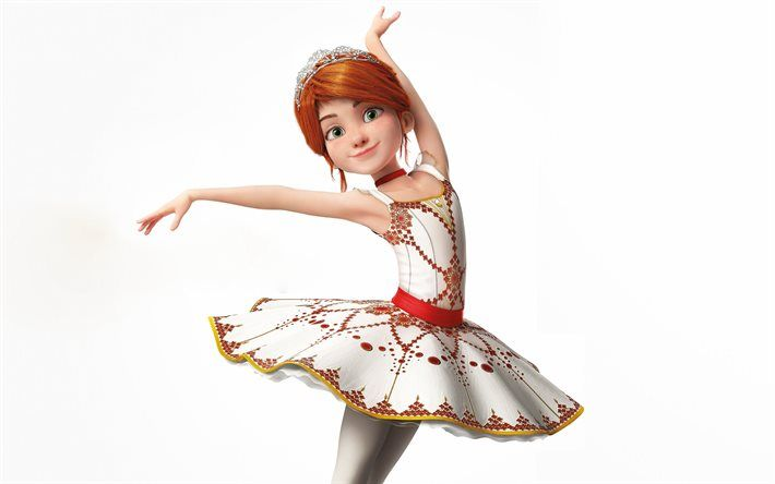 Ballerina 2016 3d Animation Felicie Milliner With Images