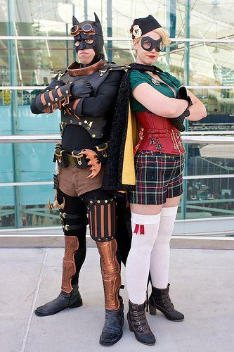 SDCC: DC SteamPunk - Steampunk fashion, Superhero cosplay ...