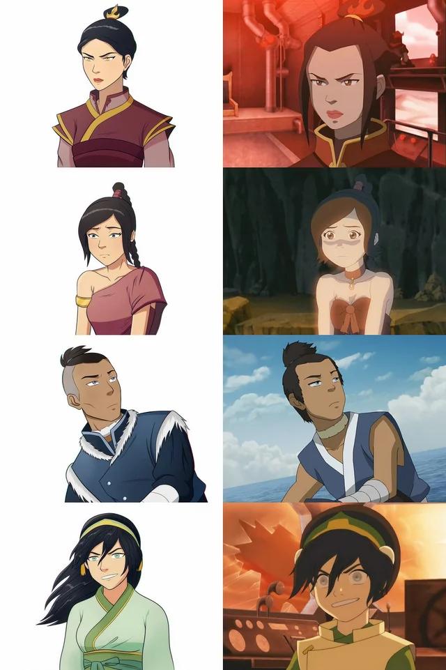 avatar 10 years later Avatar kyoshi, Avatar airbender