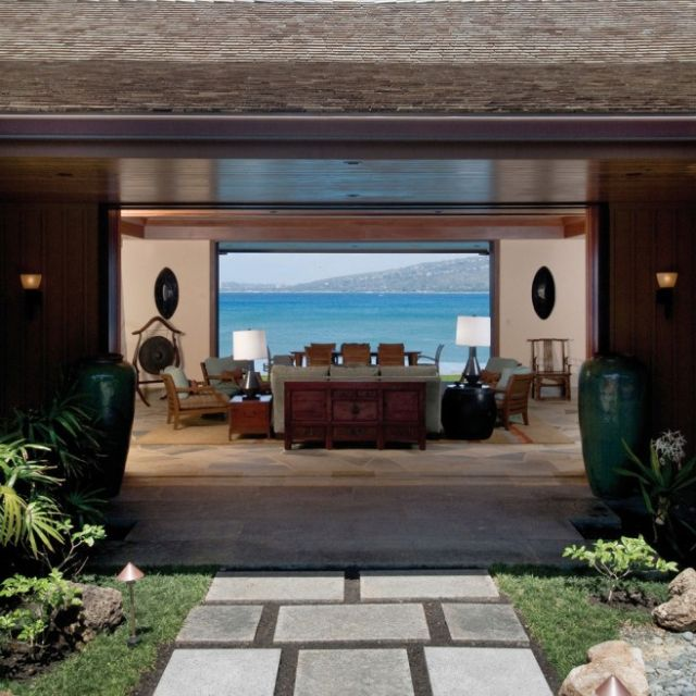 Tropical Beach House Interior: Contemporary Beach House, Beach House