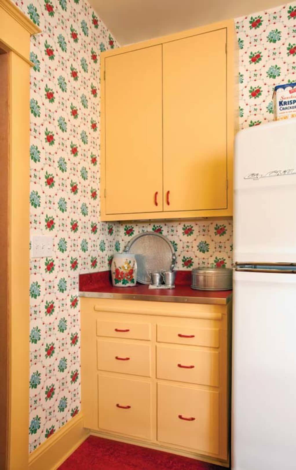 Designing a Retro s Kitchen Charlevoix House Pinterest