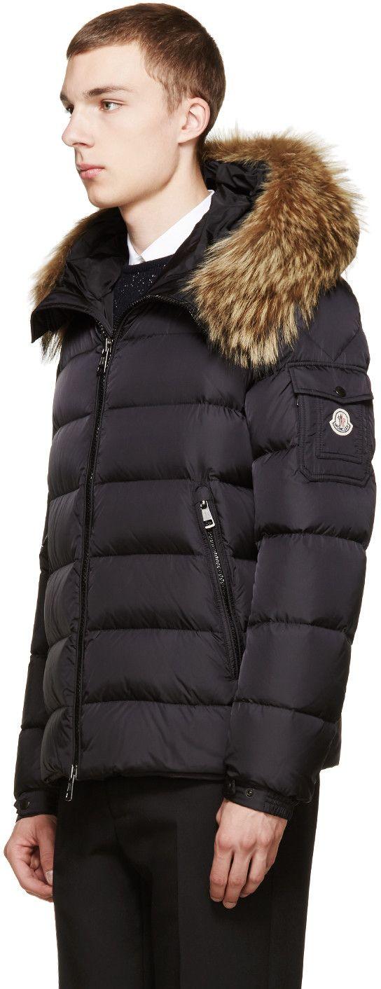 moncler byron jacket black