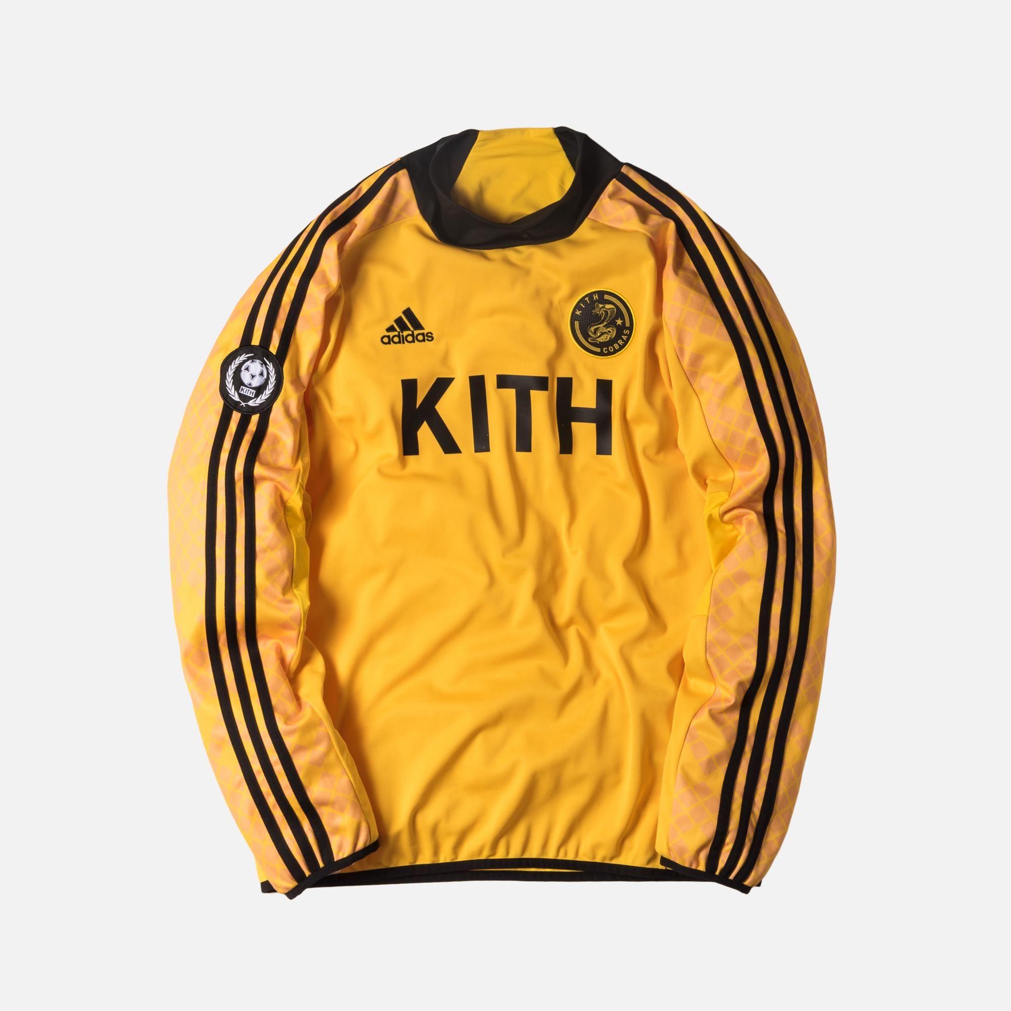 ceb88025127 Kith x adidas Soccer Goalie Jersey - Cobras | Fashion Killers ...