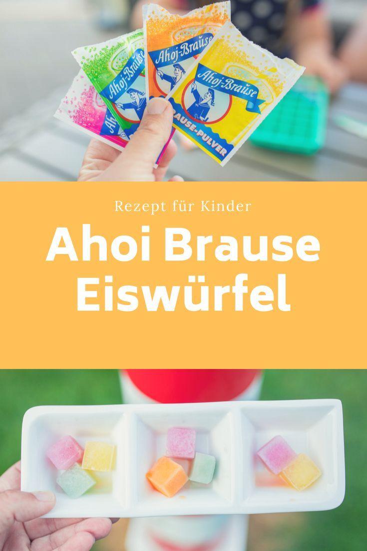 Photo of Sommer-Rezept für Kinder: Leckere Ahoj Brause Eiswürfel