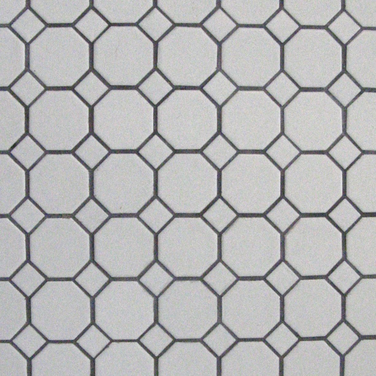 We chose simple black and white hexagon tile floors for the girls we chose simple black and white hexagon tile floors for the girls bathroom remodel dailygadgetfo Gallery