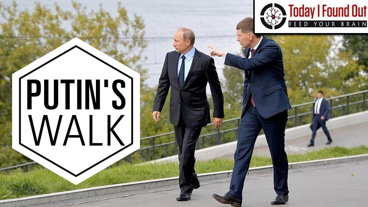 Why Does Vladimir Putin Walk So Weird Putin Vladimir Putin Political Videos