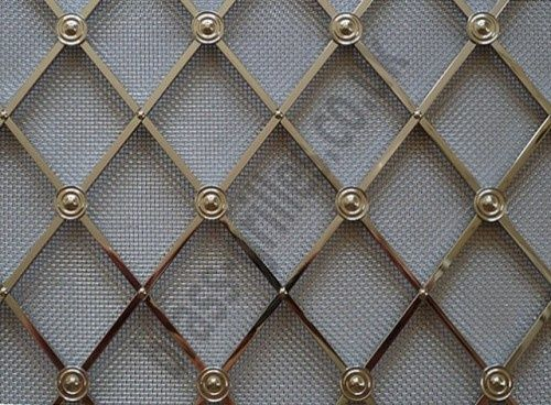 I Love Using This Metal Mesh In Lieu Of Glass Inserts In Kitchen
