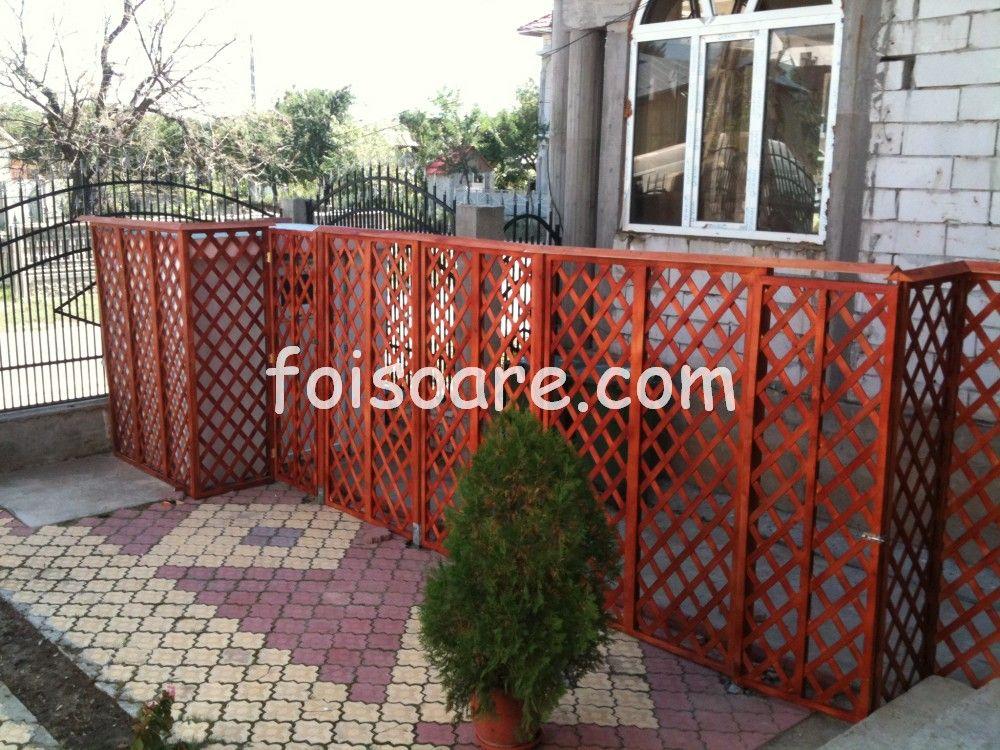 Garduri Din Lemn Decorative Pentru Terase Outdoor Decor Patio Decor