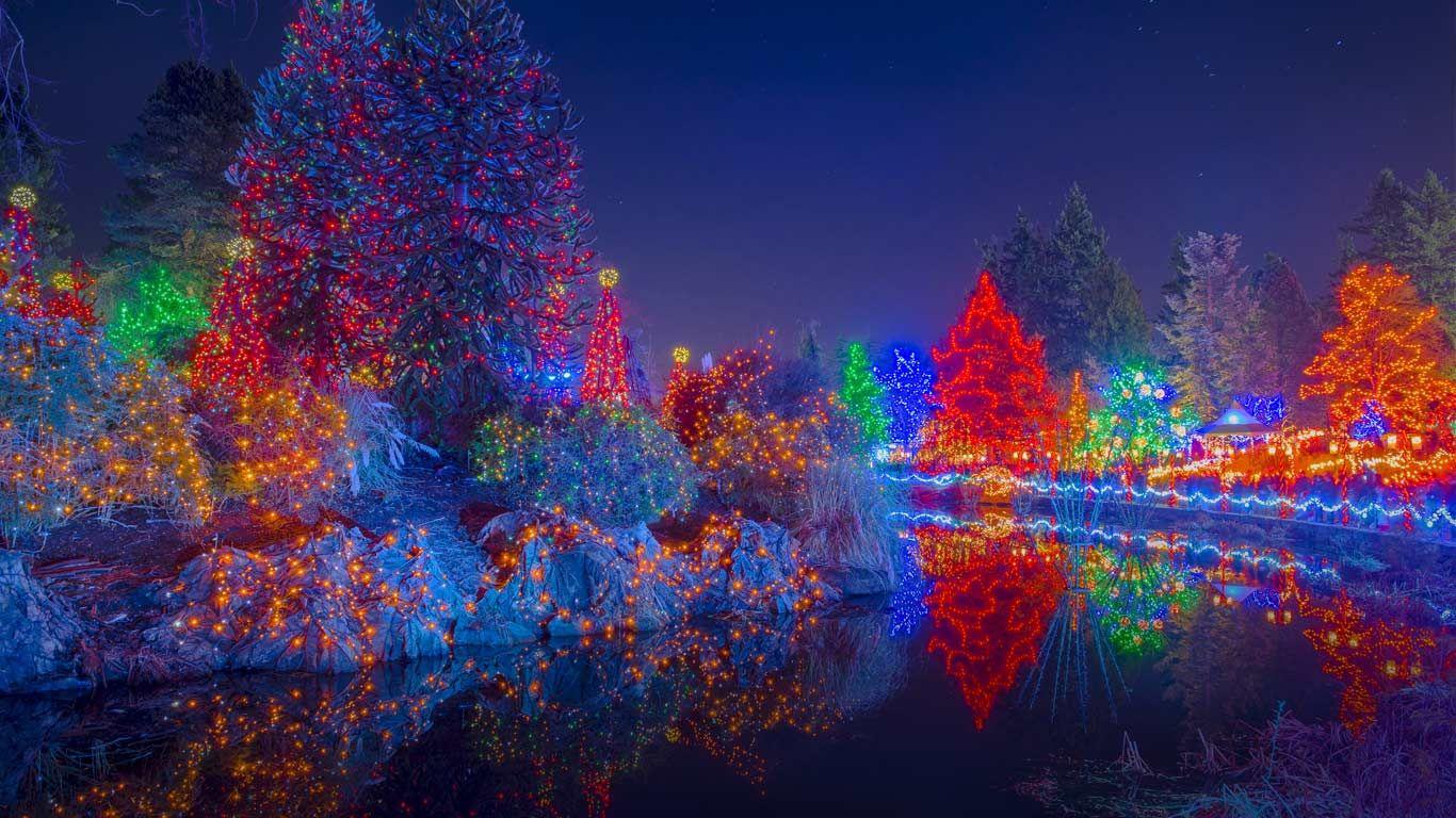 b976bf10aa2bddaf5e794c0384747d15 - Van Dusen Botanical Gardens Christmas Lights