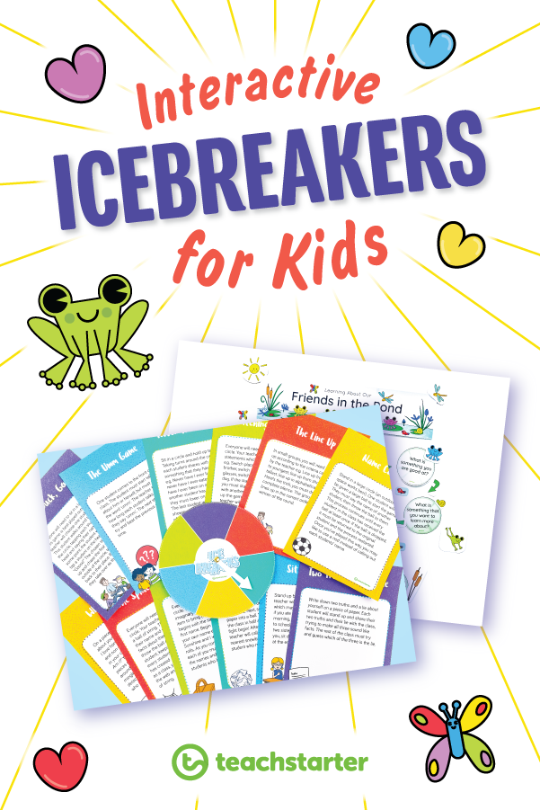 Interactive Icebreakers for Kids Get to know you