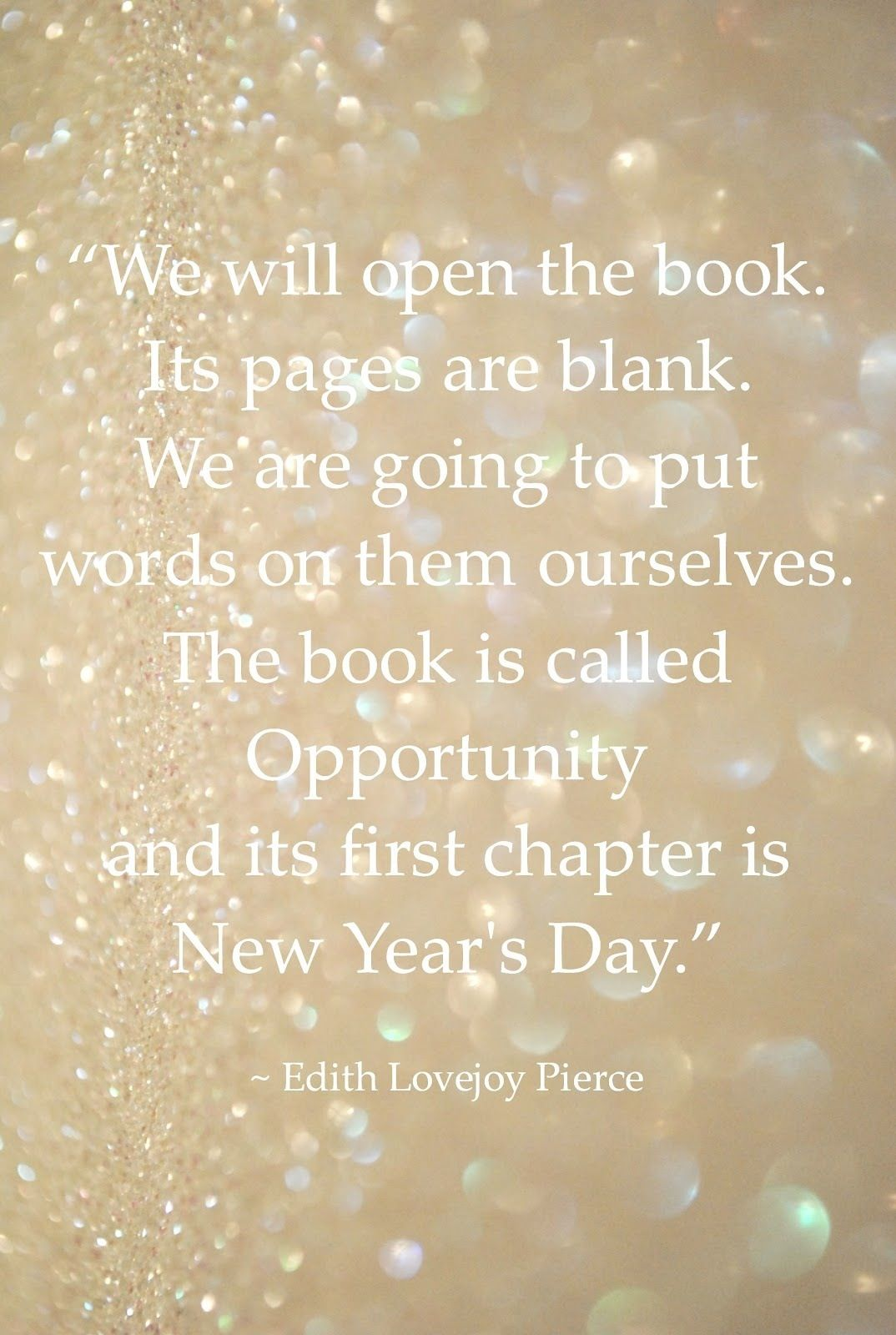 Happy New Year, friends. | A New Year | Pinterest | Wisdom ...