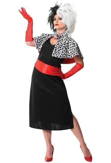 Cruella De Vil Costume Inspiration