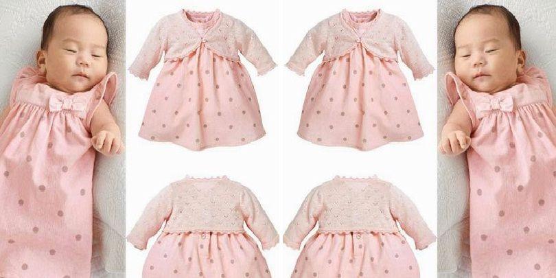 Model Baju Bayi Perempuan Terbaru 2019