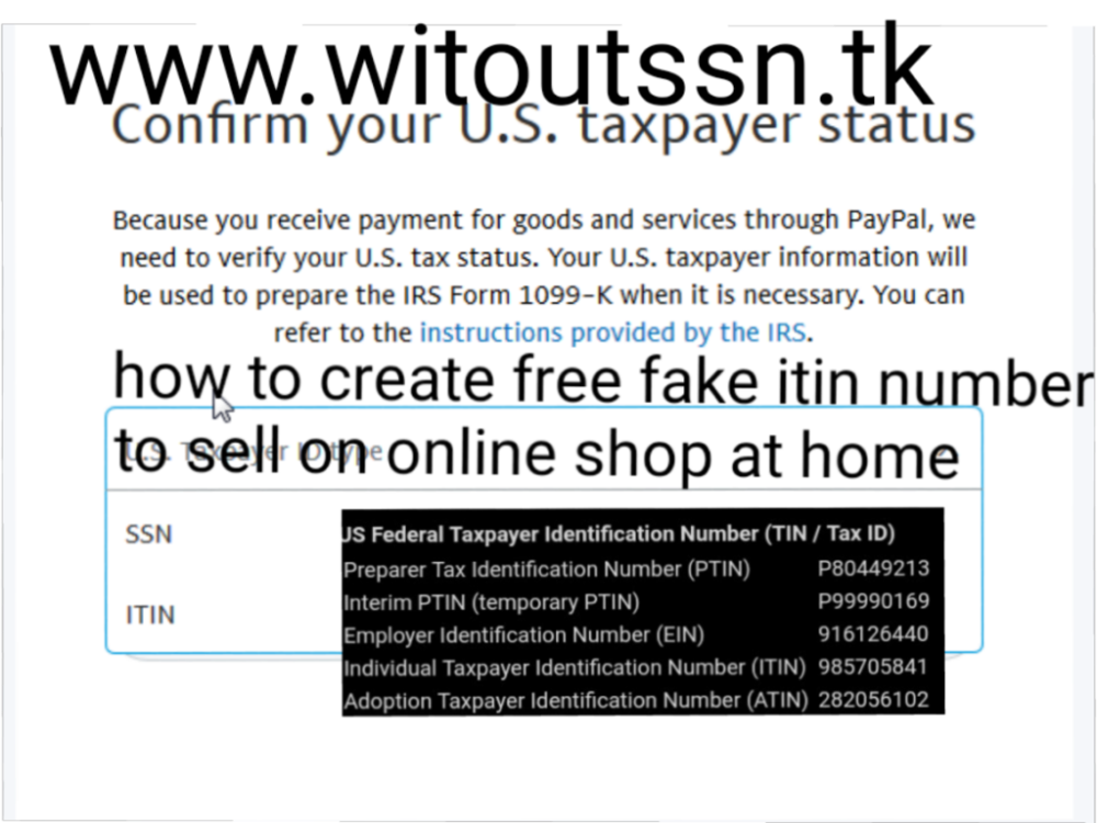 Edit Post ‹ sellers without SSN ITIN EIN number — WordPress